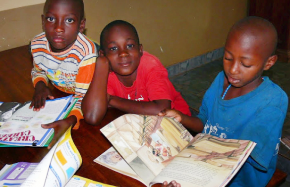 UGANDA: Book Donation Opens Students' Eyes to New Opportunities