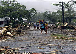 SAMOA: Salesians Worry about Youth Returning to School after Cyclone Evan