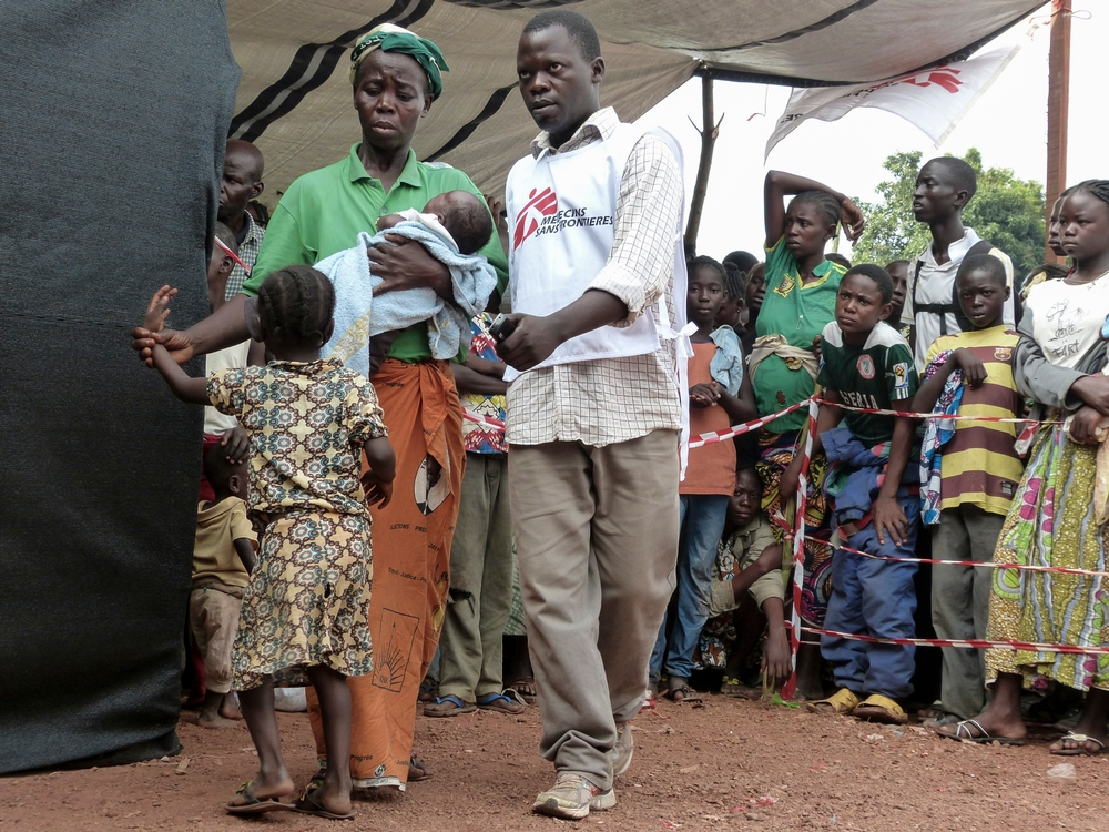 Doctors Without Borders CENTRAL AFRICAN REPUBLIC Civilians And Hospitals Affected By Extreme Violence In Bangui