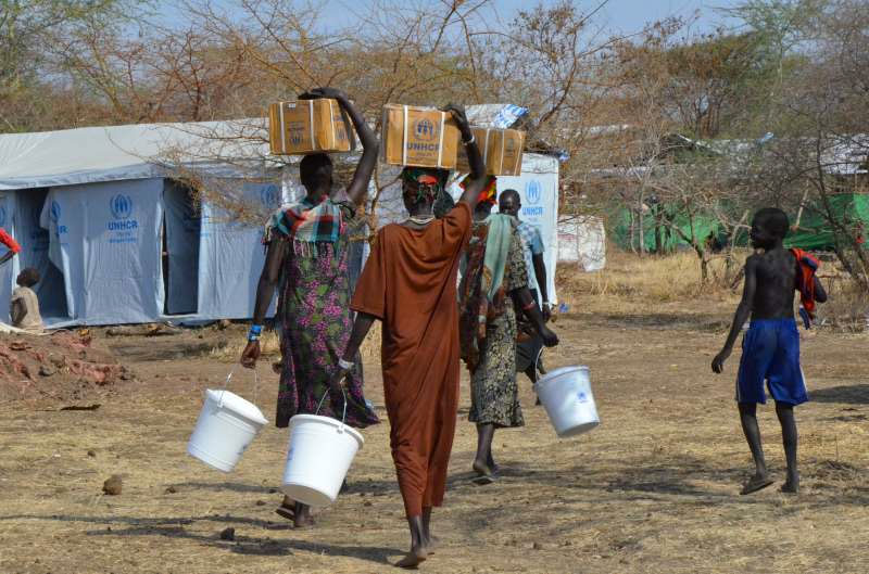 south sudan italy allocates refugee support