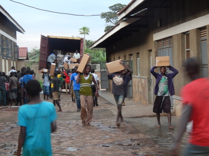 UGANDA: Donated Books Help Improve Educational Opportunities for Poor Youth