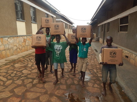 UGANDA: Salesian Missions Coordinates Delivery of Stop Hunger Now Meals to Vulnerable Youth Taking Part in Educational Programs