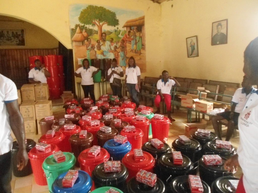 WEST AFRICA: Emergency Food Aid Helps Those Affected by Ebola Thanks to Salesian Missions Partnership with Stop Hunger Now