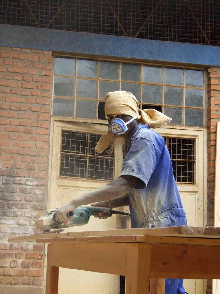 BURUNDI: Students Learn the Craft of Wood Making for Future Employment