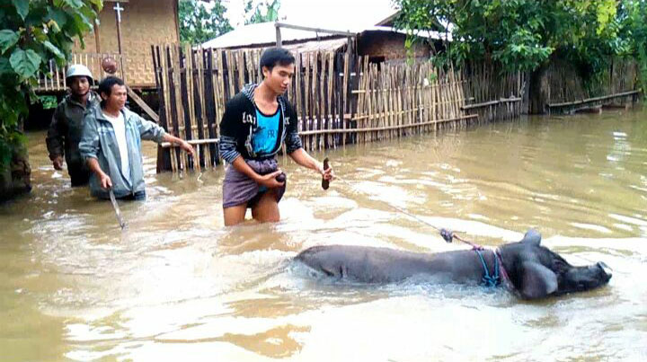 MYANMAR: Salesian Missionaries are Providing Emergency Relief to Flood Victims