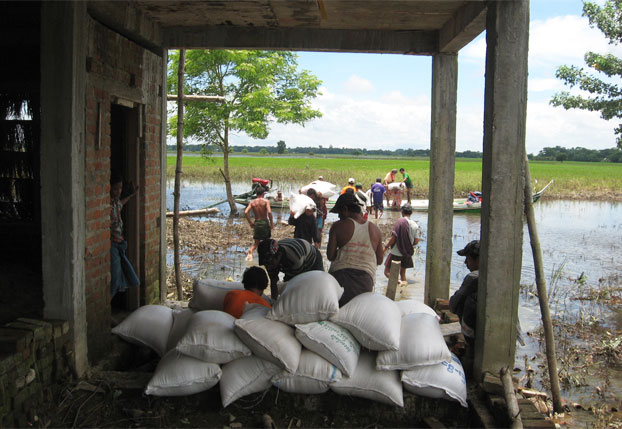 MYANMAR: Salesian Missionaries Continue Flood Relief and Assistance to Those Affected