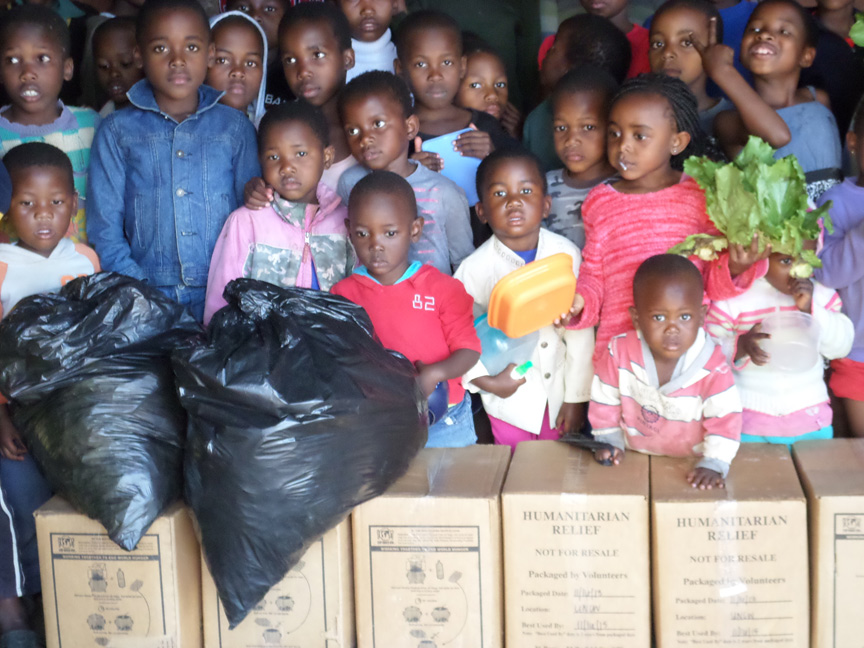 SWAZILAND: More Than 2,100 Youth in Salesian Programs Receive Better Nutrition Thanks to Rice-Meal Donation