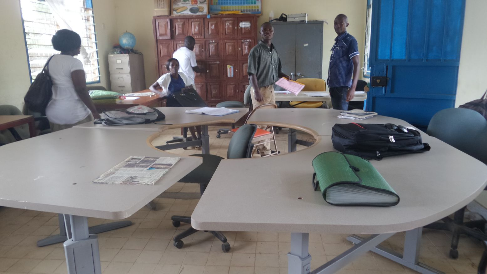 Sierra Leone Salesian Programs Benefit From Furniture Donation From The Institution Recycling