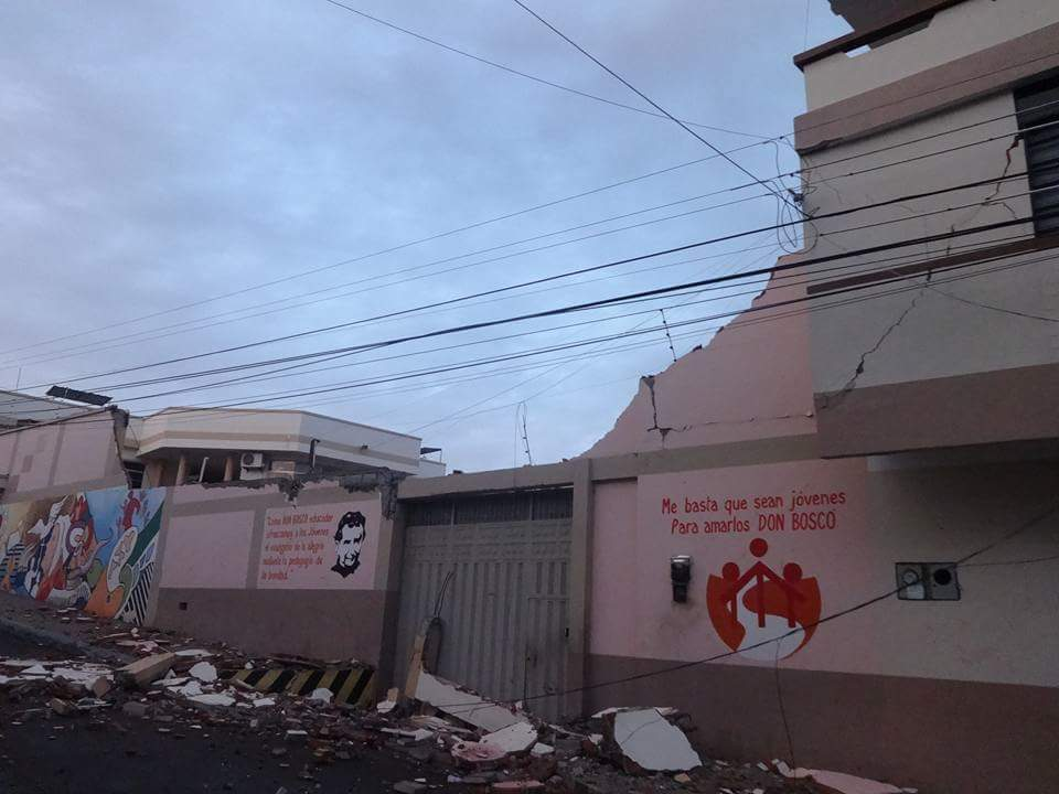 ECUADOR: Salesian Missionaries Provide Relief and Assistance to Those in Crisis after Earthquake