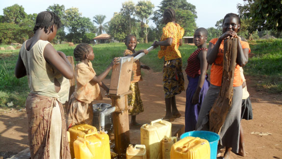 SOUTH SUDAN: Salesian Missionaries Dig New Well Providing Close to 4,000 People Clean, Safe Water