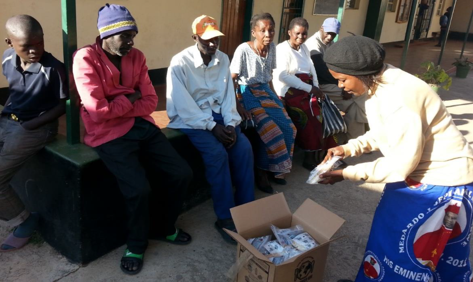 ZAMBIA: Salesian Missions Gifts-in-Kind Program Makes a Difference for Those in Need