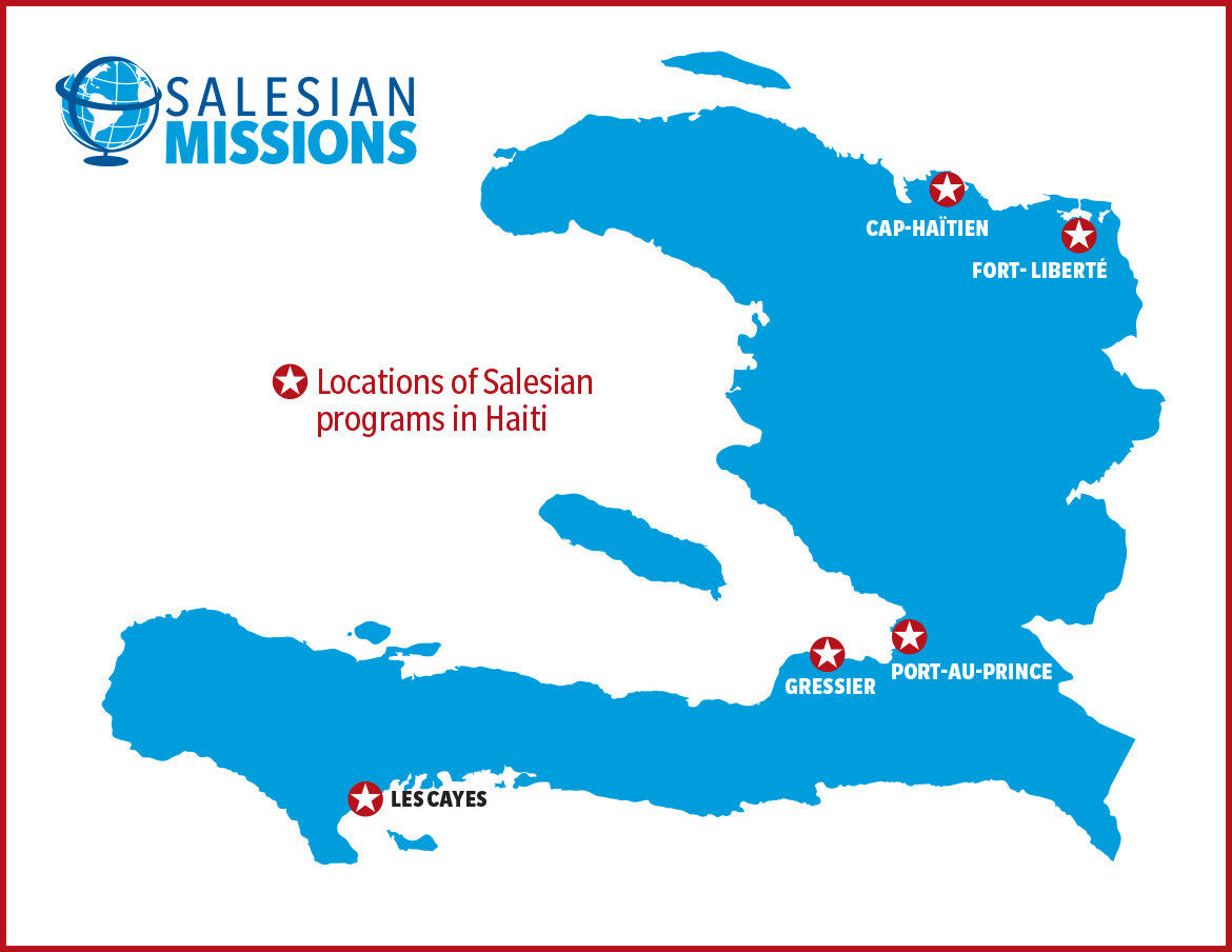 Youth from salesian programs httpssalesianmissionshaiti reliefgive gumiabroncs Choice Image