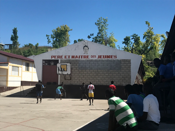 HAITI: Fighting Hunger in the Classroom