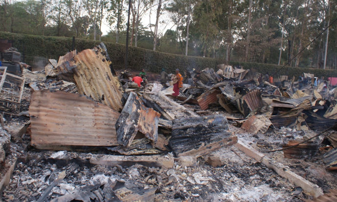 KENYA: Salesian Missionaries Respond to Need of Families Affected by Devastating Fire in Kuwinda