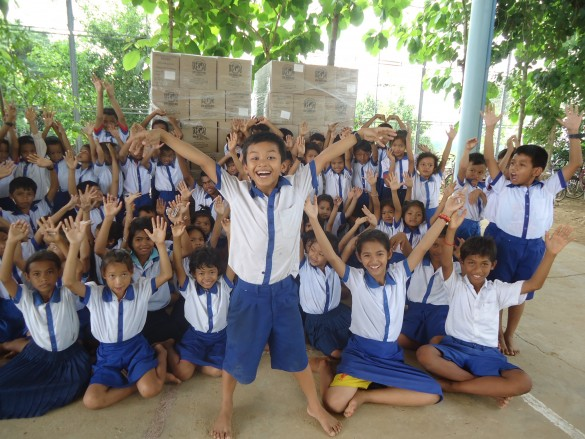 CAMBODIA: Salesian Technical Students Access Better Nutrition Thanks to Rice-Meal Donation from Rise Against Hunger