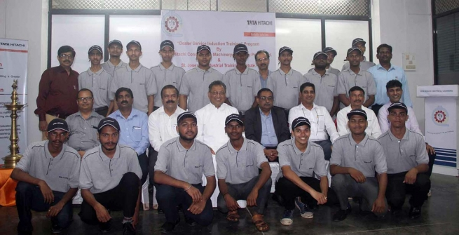 INDIA: St. Joseph's Industrial Training Institute Forms Partnership with Tata Hitachi to Provide a Dealer Service Induction Training Program