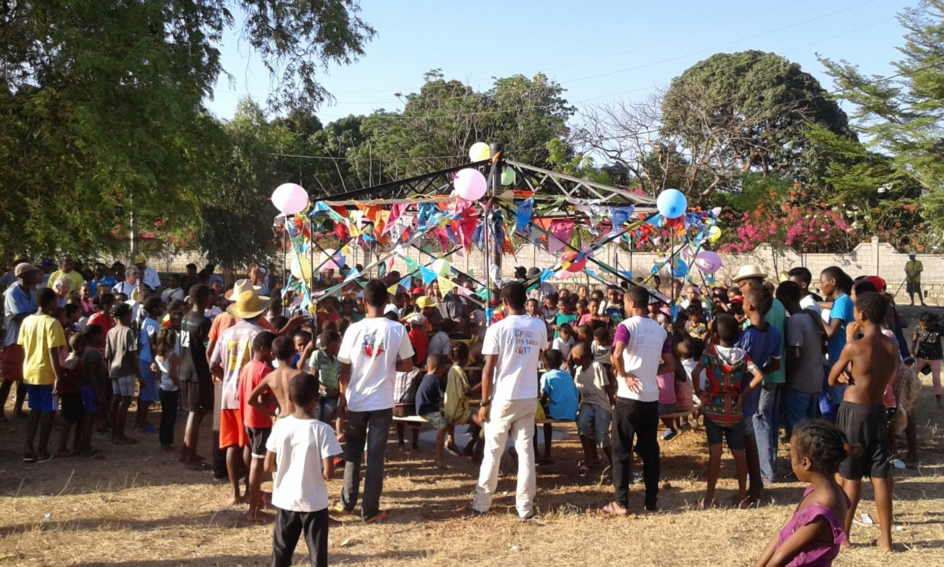 MADAGASCAR: Playground equipment donated to Salesian Center in Bemaneviky