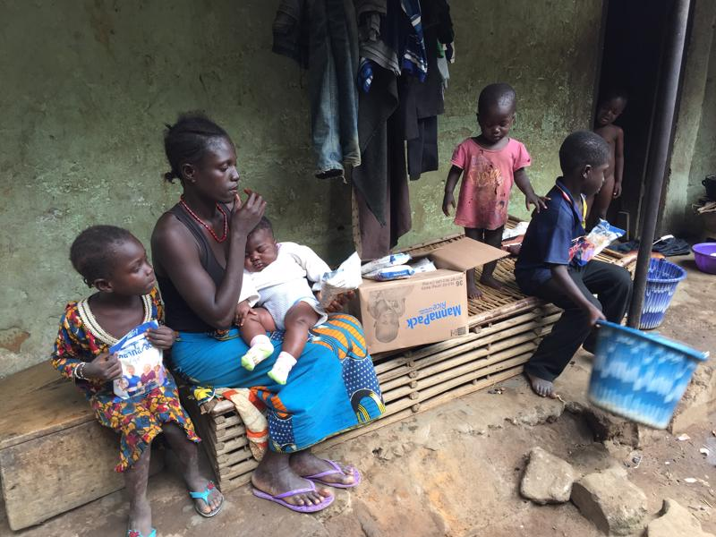 SIERRA LEONE: Children at Don Bosco Youth Center have access to better nutrition thanks to Feed My Starving Children rice meal shipment